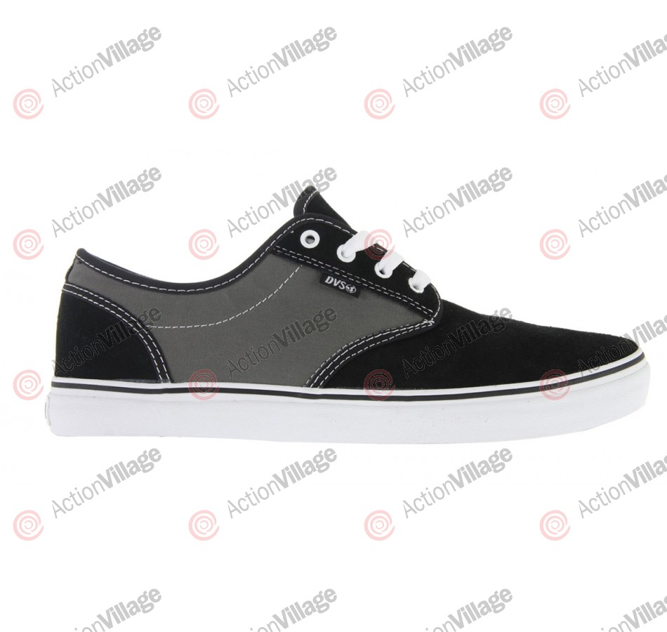 DVS Rico CT - Black/Grey Suede - Skateboard Shoes