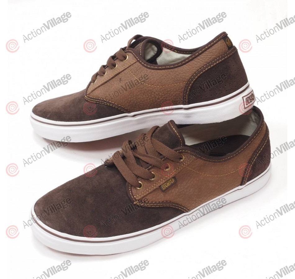 DVS Rico CT - Brown Suede - Skateboard Shoes