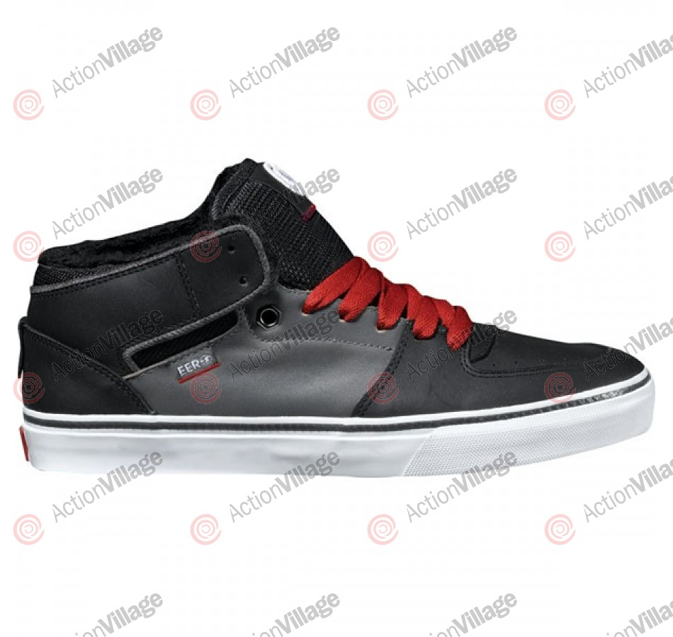 DVS Torey - Black/Grey Leather - Skateboard Shoes