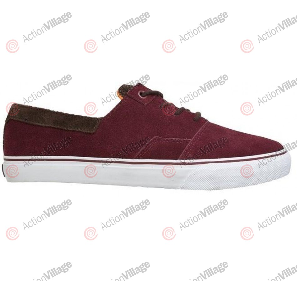 DVS Torey 2 - Burgundy Suede - Skateboard Shoes