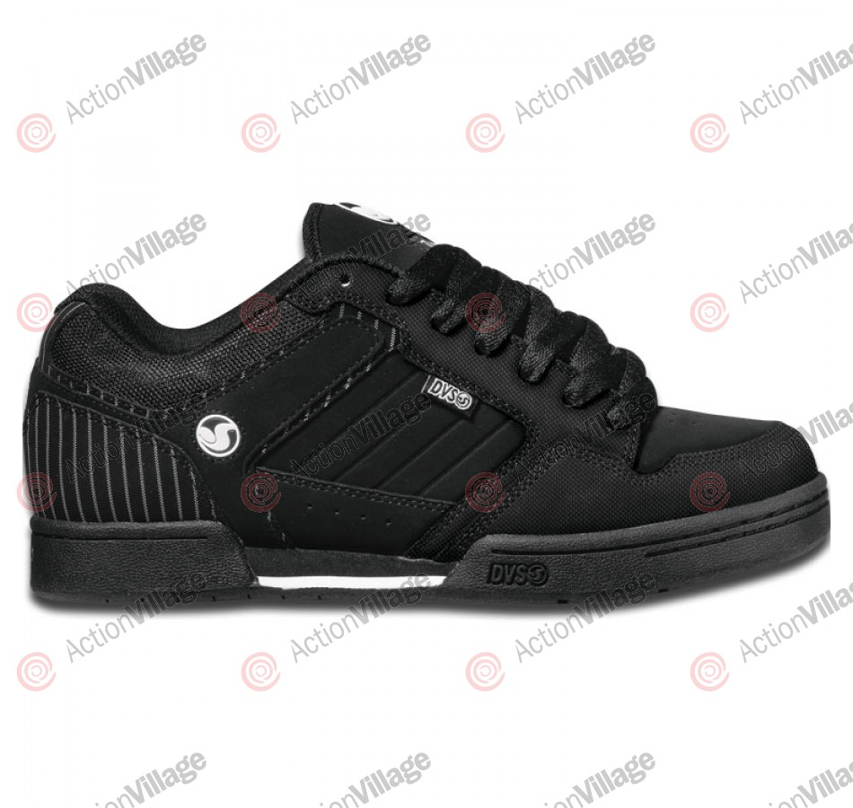 DVS Transom - Black Nubuck - Skateboard Shoes