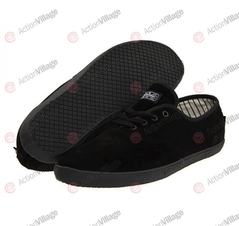 DVS Vino - Black Suede - Skateboard Shoes