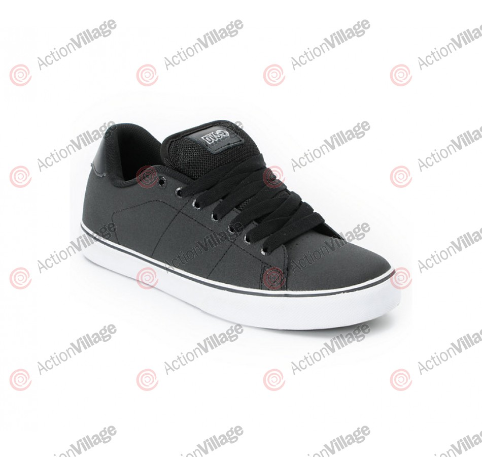 DVS Gavin CT Dirt Series - Black High Abrasion Leather - Skateboard Shoes