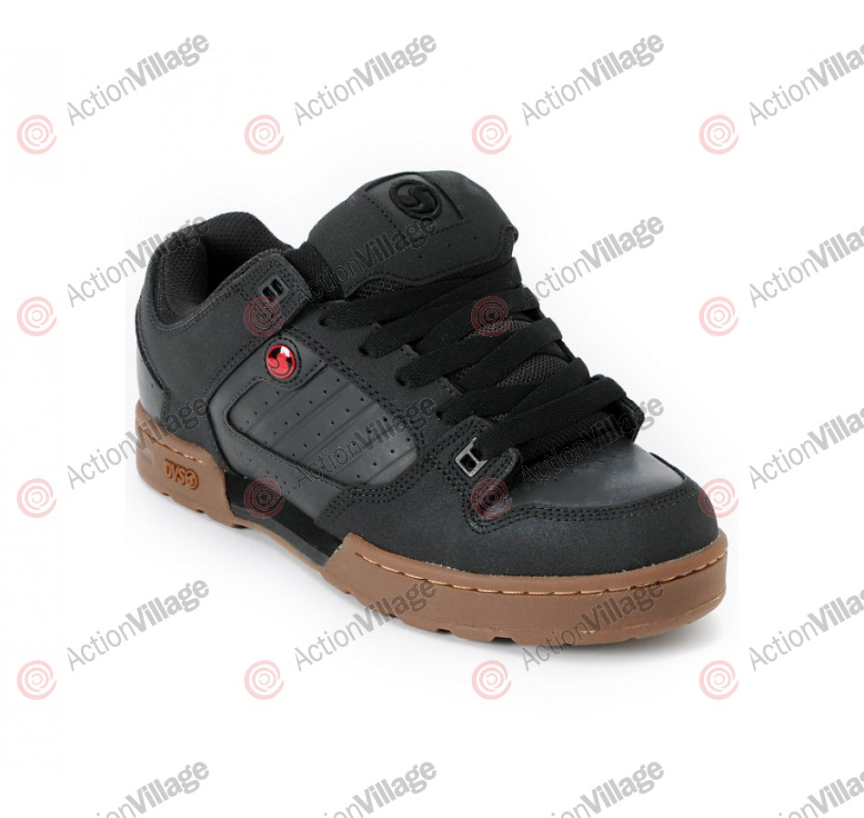 DVS Militia Dirt Series - Black High Abrasion Leather - Skateboard Shoes