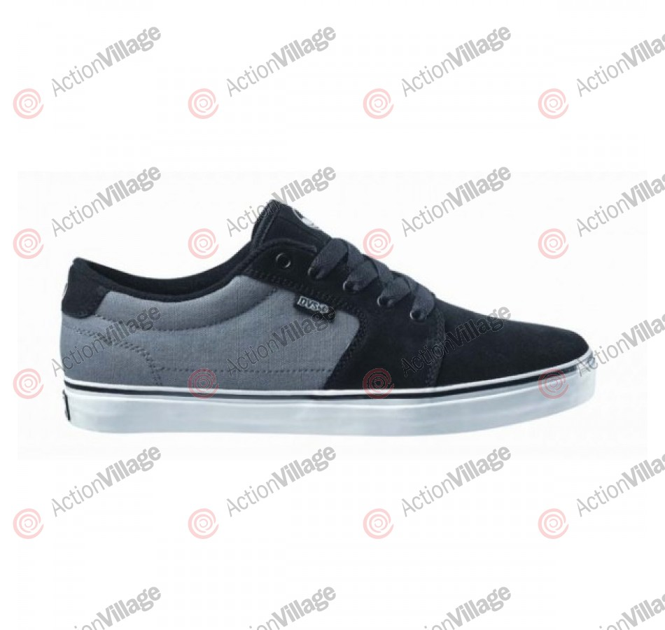 DVS Convict - Kids - Black/Grey Suede - Skateboard Shoes