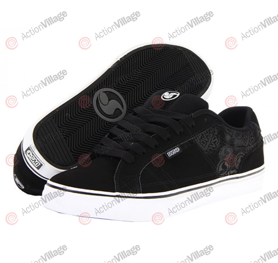 DVS Crenshaw - Black Nubuck - Skateboard Shoes