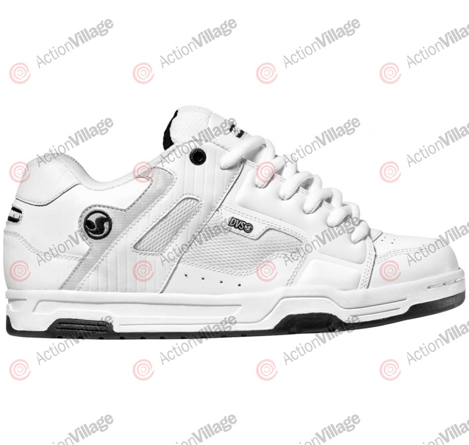 DVS Enduro - White Leather - Skateboard Shoes
