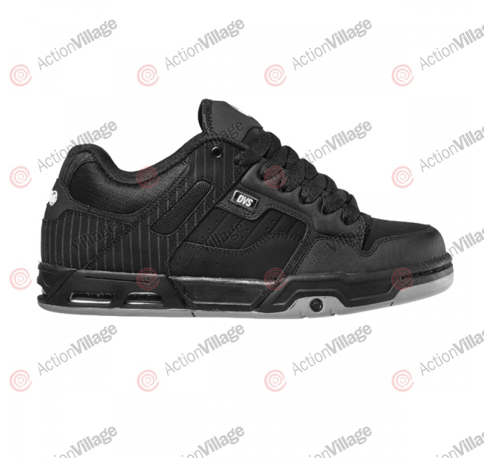 DVS Enduro Heir - Black Stripe Leather - Skateboard Shoes