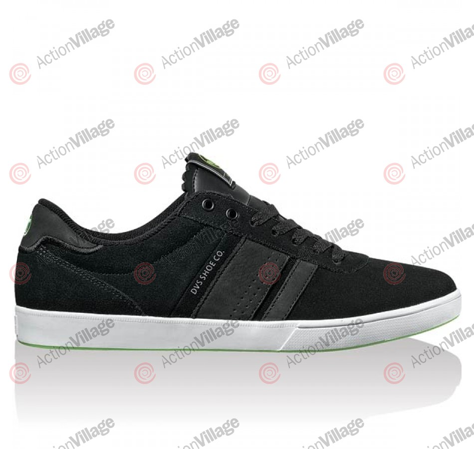 DVS Fulham - Black Suede - Skateboard Shoes