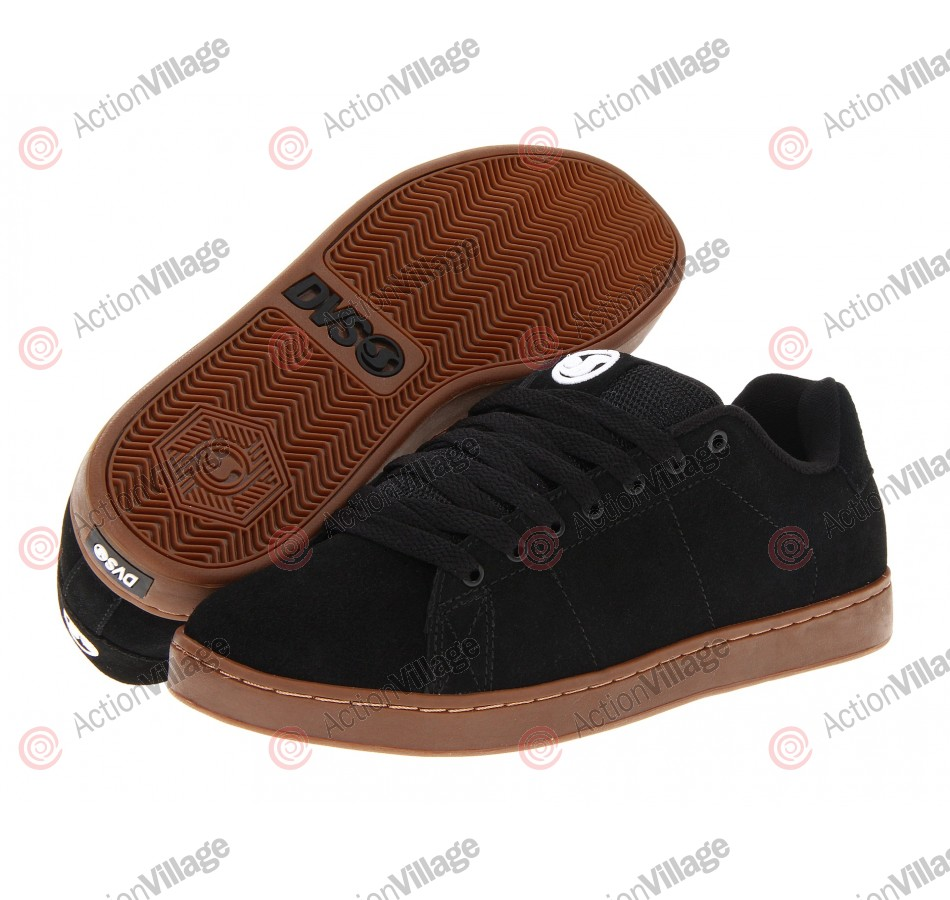 DVS Gavin 2 - Black Suede - Skateboard Shoes