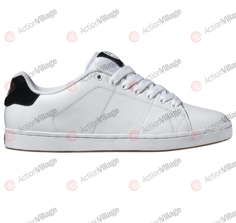 DVS Gavin 2 - White Leather - Skateboard Shoes