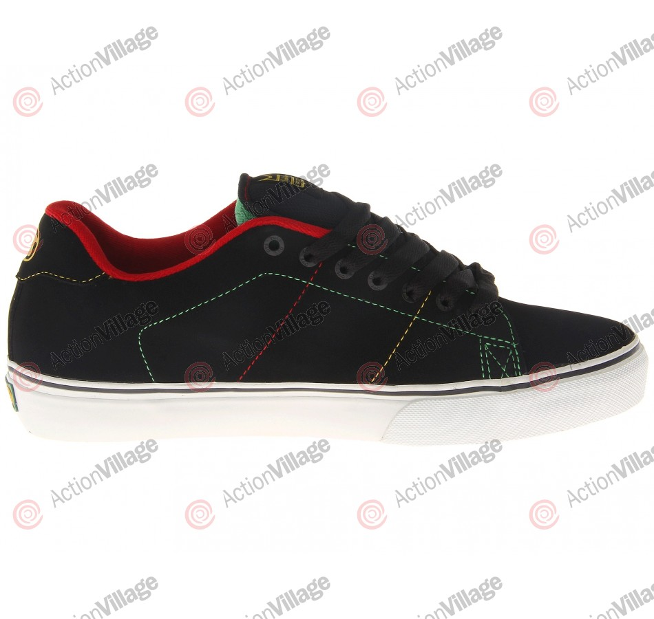 DVS Gavin CT - Black Rasta - Skateboard Shoes