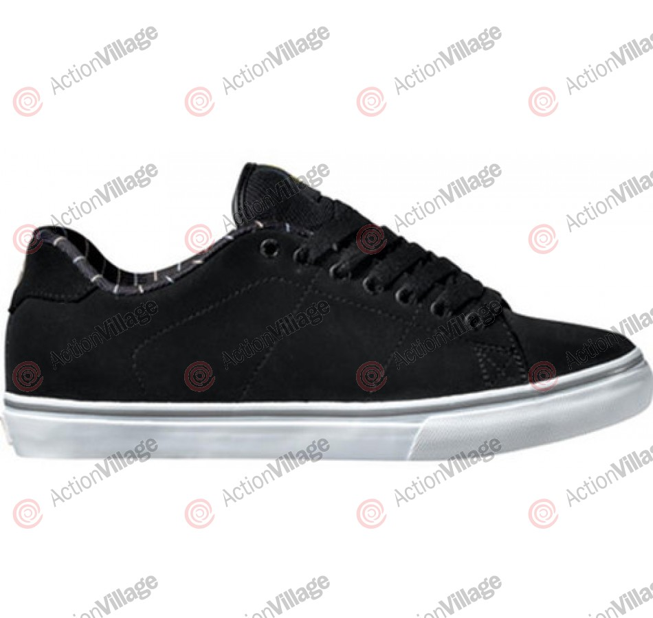 DVS Gavin CT - Black Nubuck - Skateboard Shoes