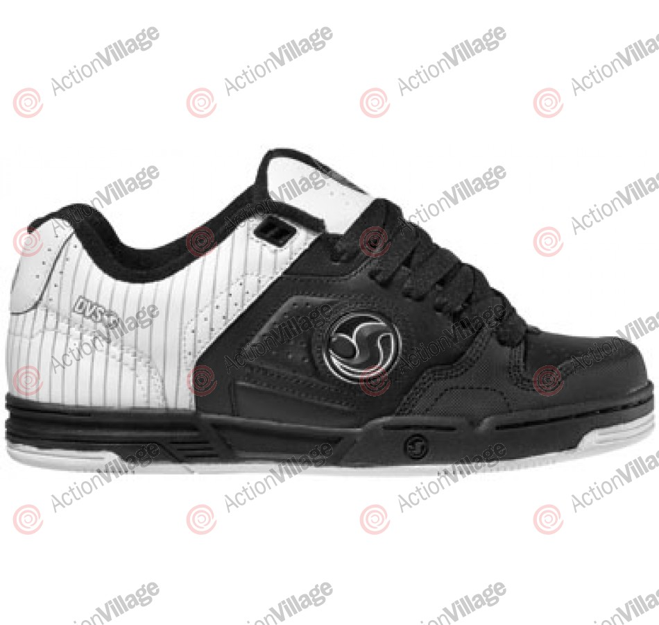 DVS Havoc - Black/White Leather - Skateboard Shoes