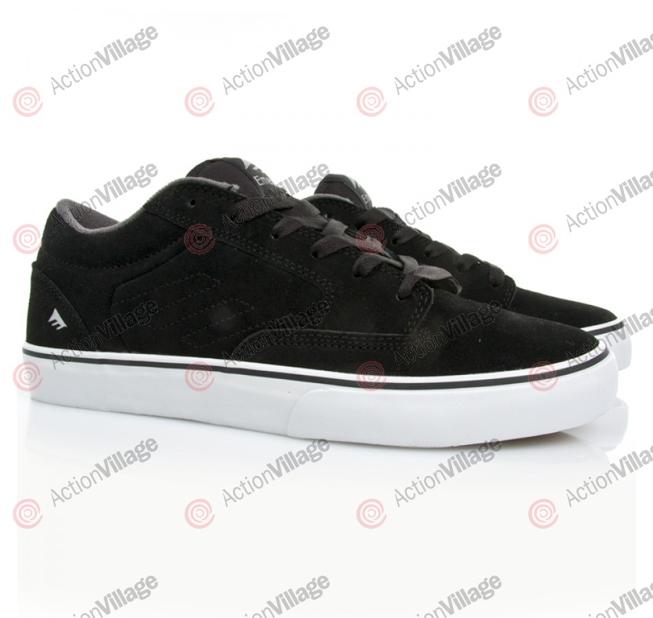 Emerica Jinx - Men's Shoes Black / White / Gum