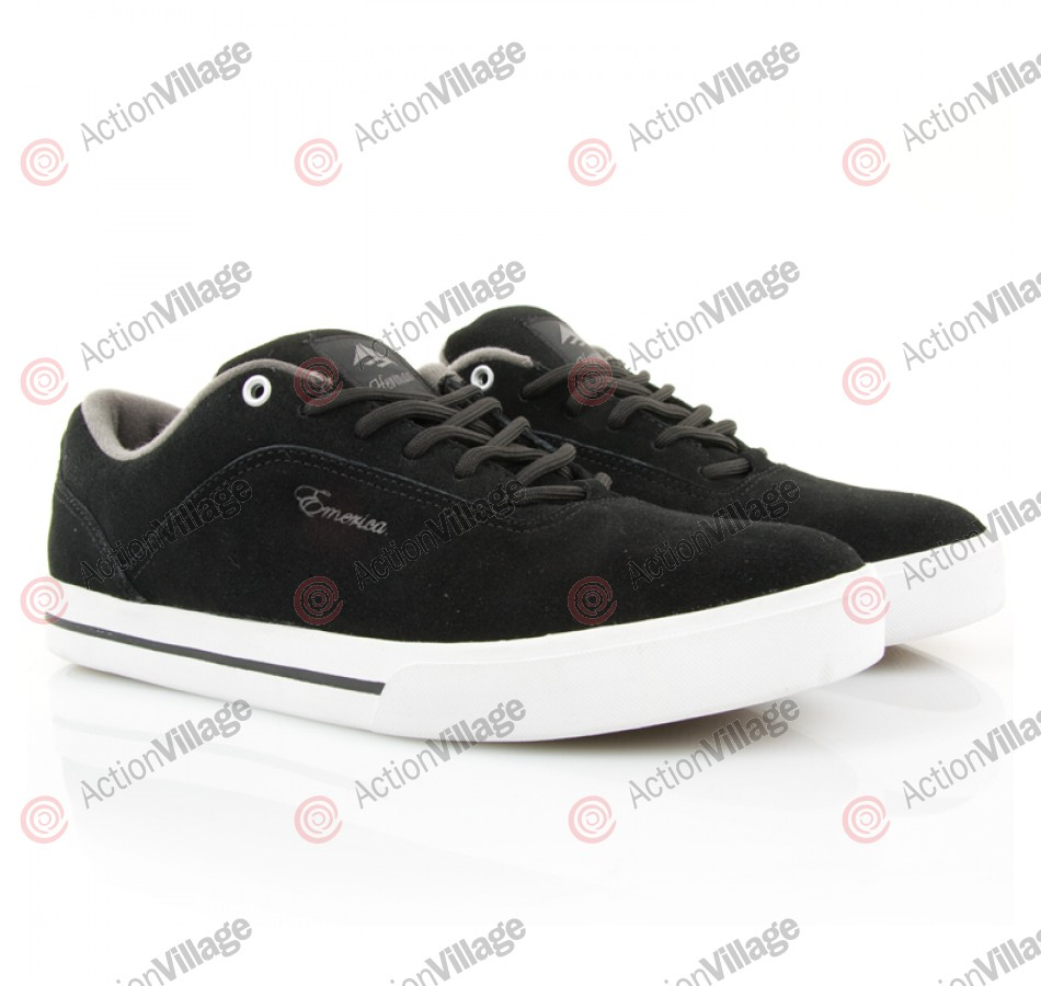 Emerica G-Code - Men's Shoes Black / White / Grey - Size 13