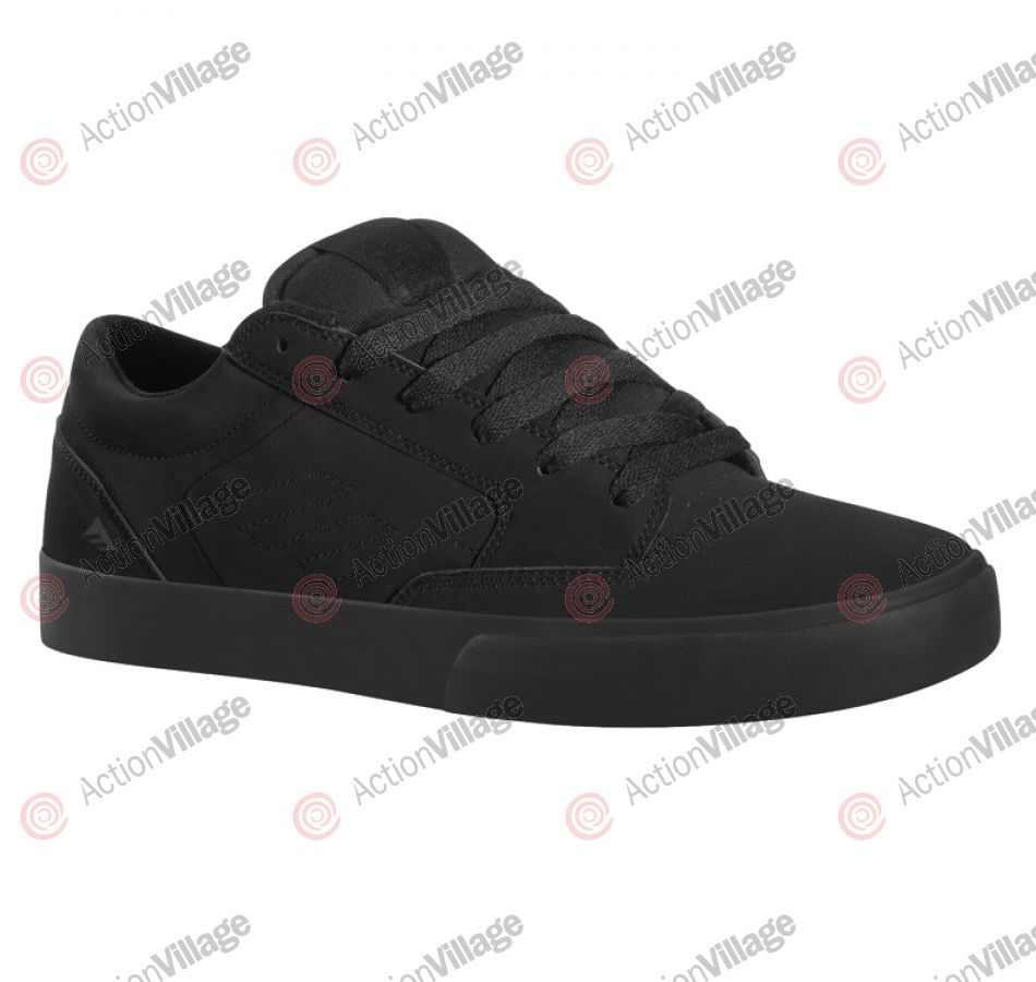 Emerica Jinx - Men's Shoes Black / Black / Black