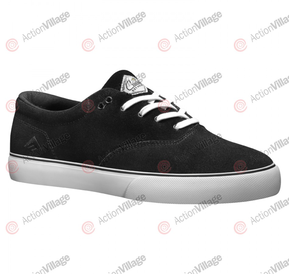 Emerica Reynolds Cruisers - Men's Shoes Black / White / Gum