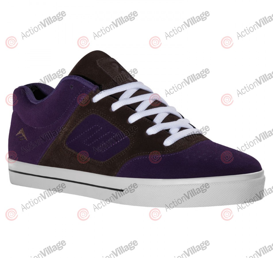 Emerica Reynolds 3 - Kid's Shoes Brown / Purple