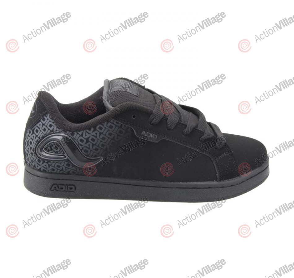 Adio Eugene RE2 - Kid's Shoes Black Nubuck / Charcoal