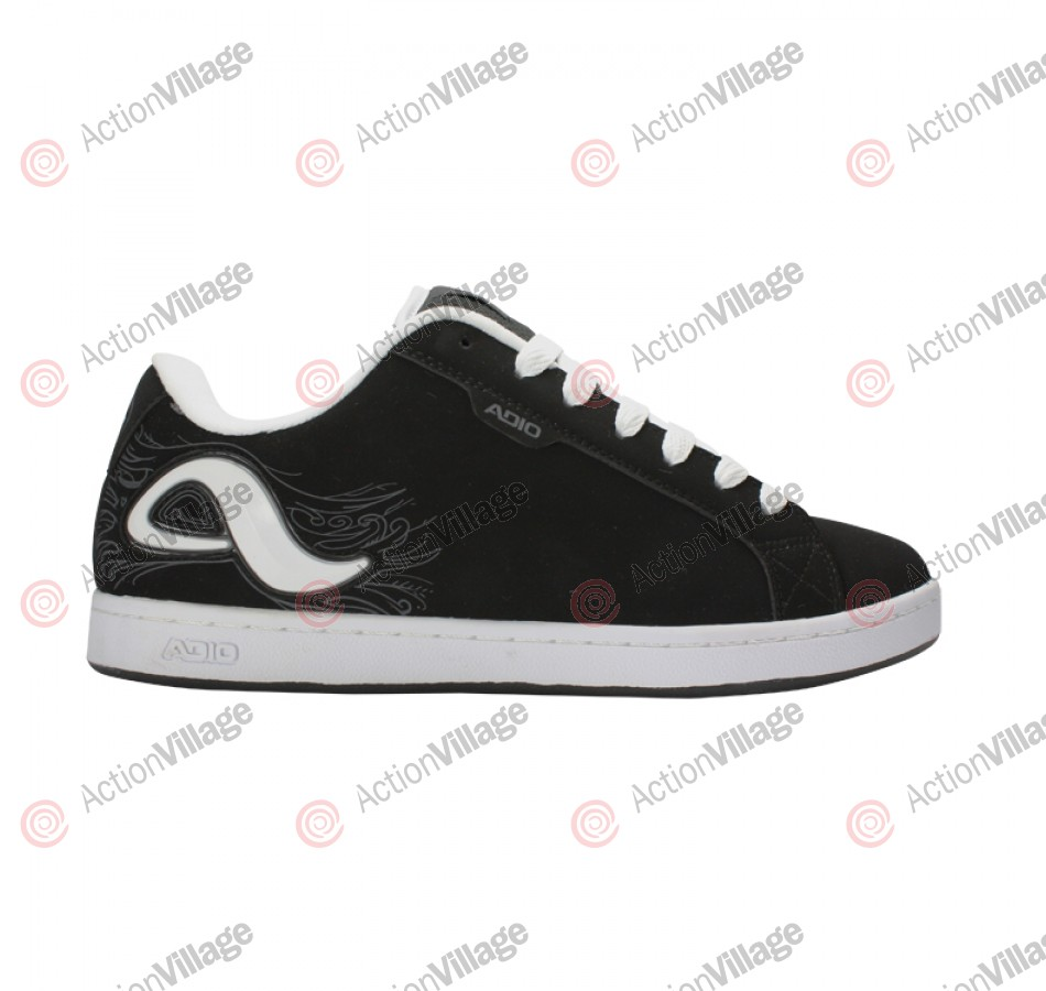 Adio Eugene RE2 - Men's Shoes Black / White