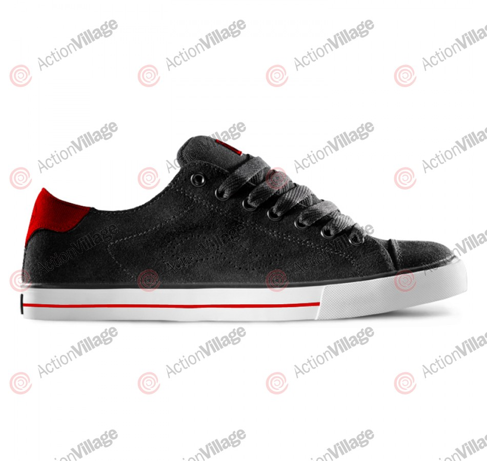 Adio Dean V2 - Men's Shoes Black / White / Red
