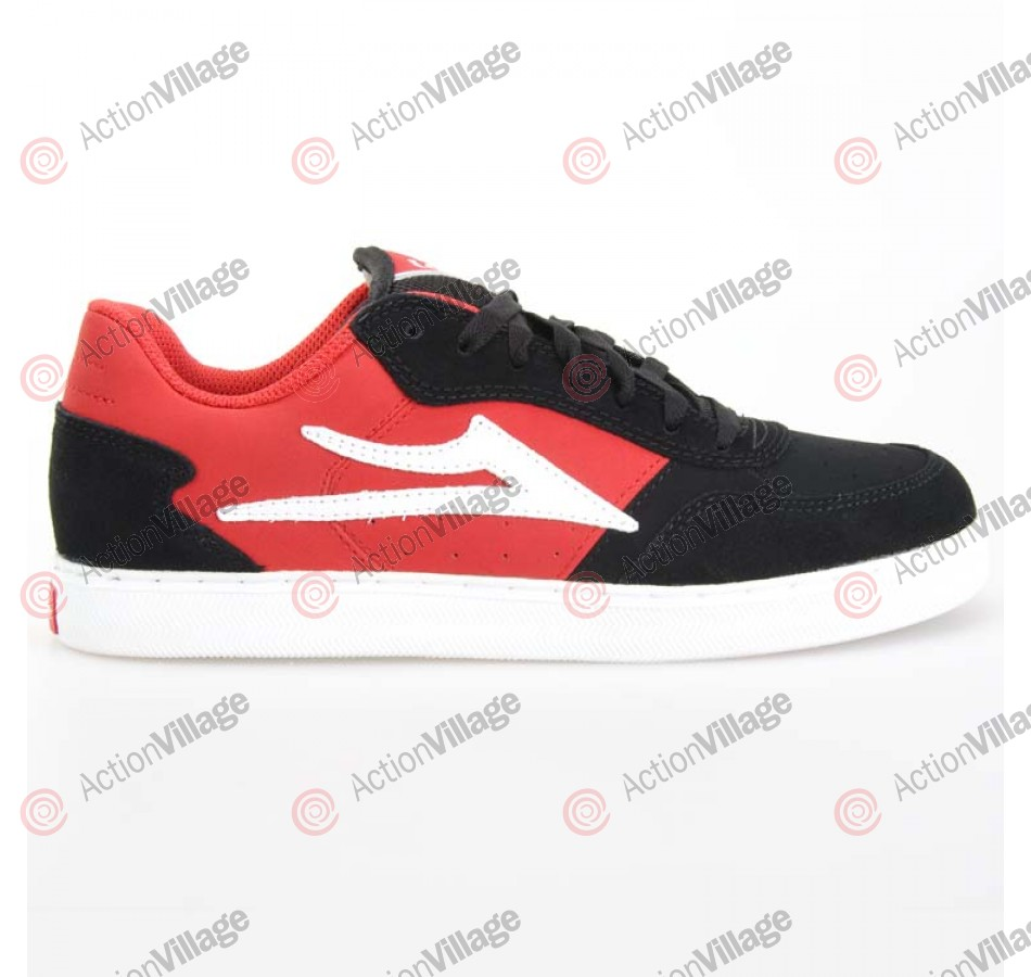 Lakai MJ-5 - Men's Shoes Black / Red Suede