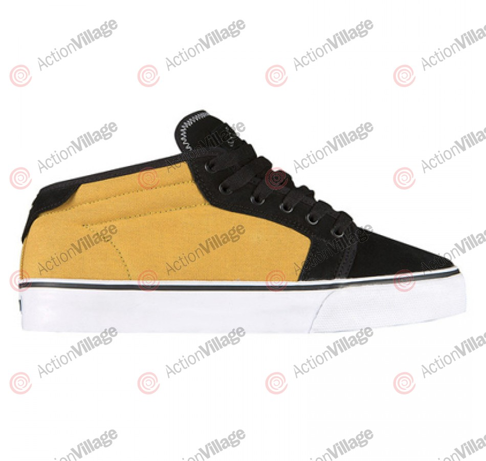 Fallen Forte Mid - Men's Shoes Black / Mustard