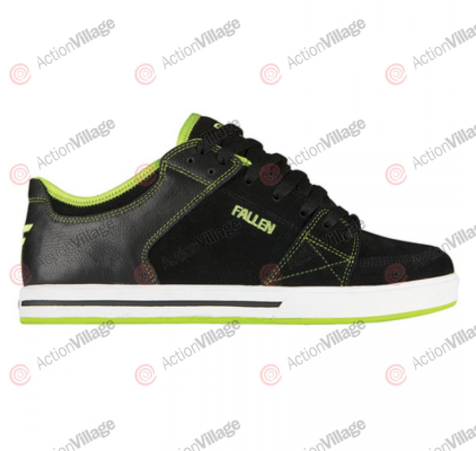 Fallen Trooper SL - Men's Shoes Black / Lime