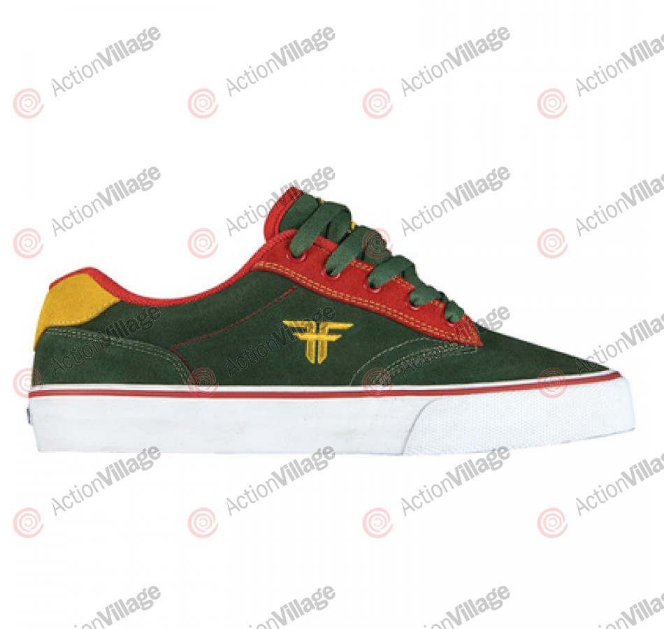 Fallen Men's Slash - Dark Forest / Red / Gold - Shoe