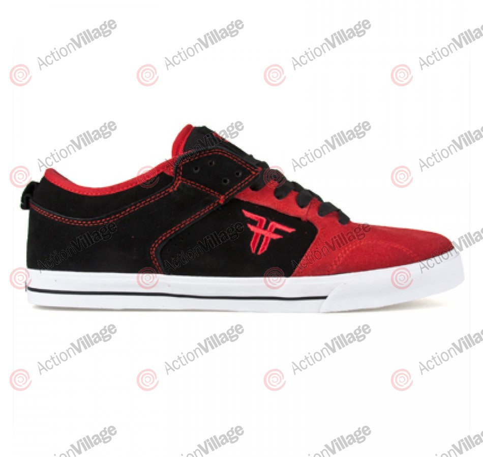 Fallen Clipper - Men's Shoes Black / Red