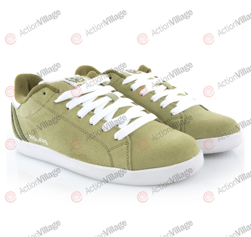 Duffs Louie - Men's Shoes Sage / White