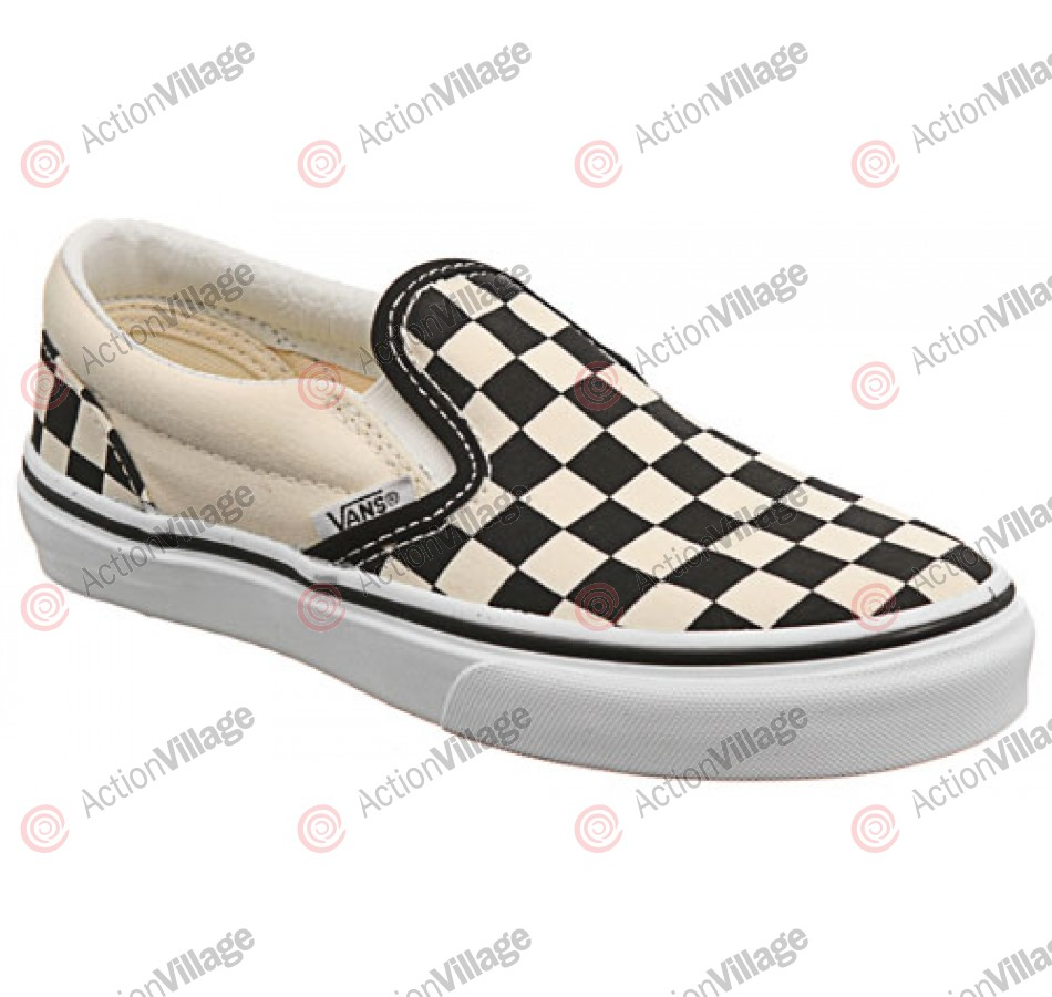 Vans Classic - Youth Shoes - Black White Checkerboard