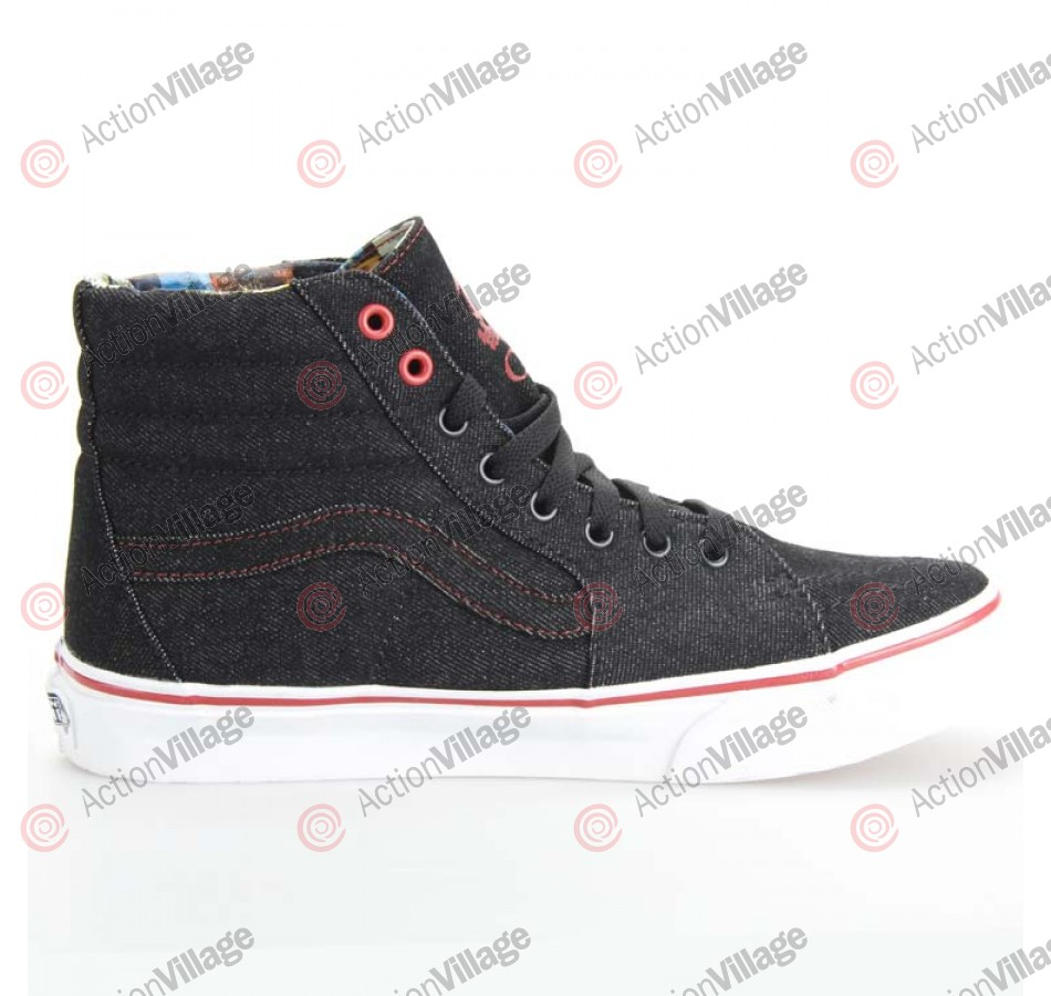 Van's Sk8-Hi - Queen Black Denim