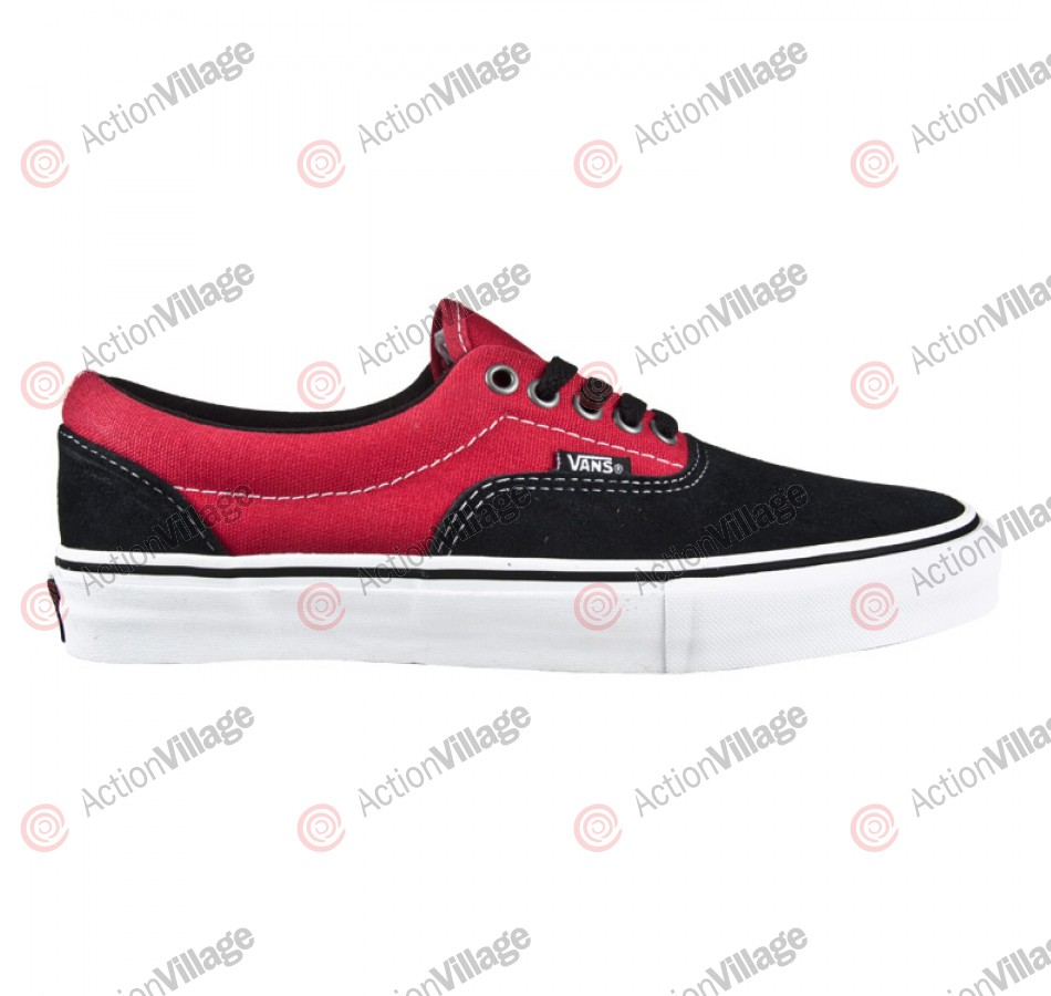 Vans Era Pro - Men's Shoes Black / Scarlet