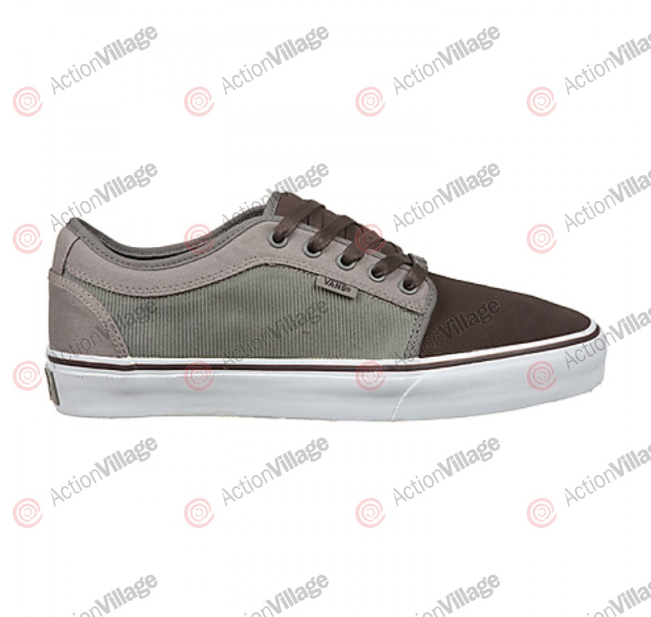 Vans Chukka Low - Men's Shoes Espresso / Gravel