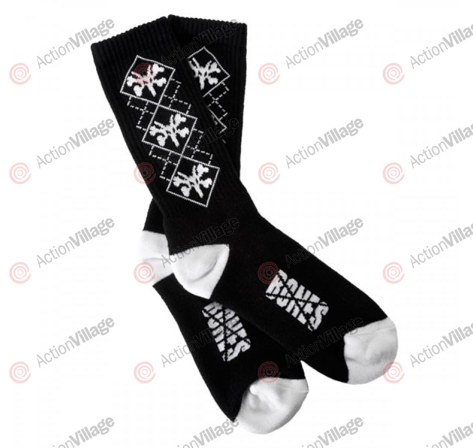 Bones Argyle - Black - Socks