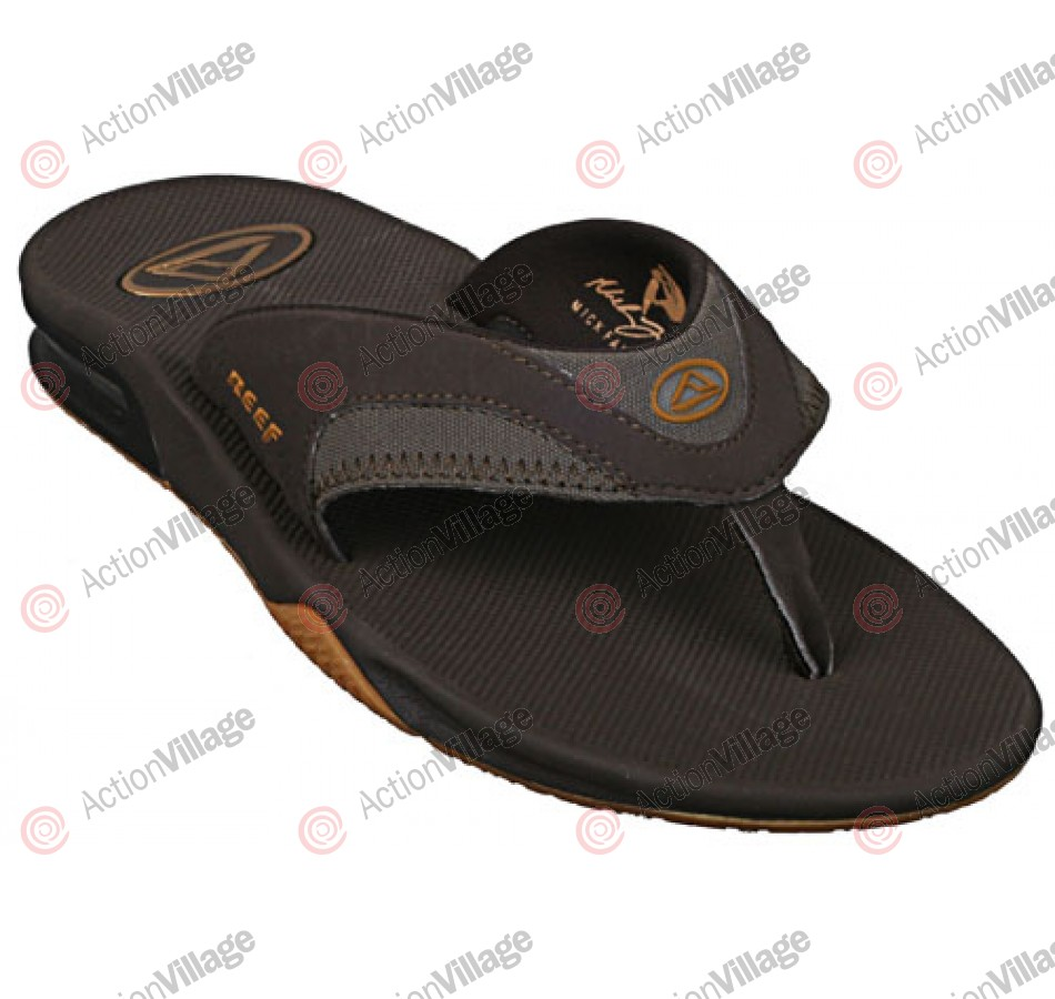 Reef Fanning - Men's Sandals - Brown / Gum