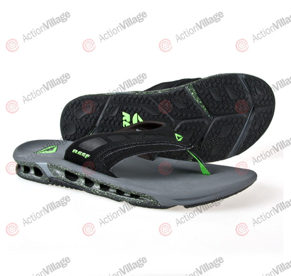 Reef Vision - Men's Sandals - Black / Grey / Green