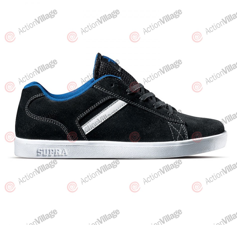 Supra Bullet - Men's Shoe Black / Suede