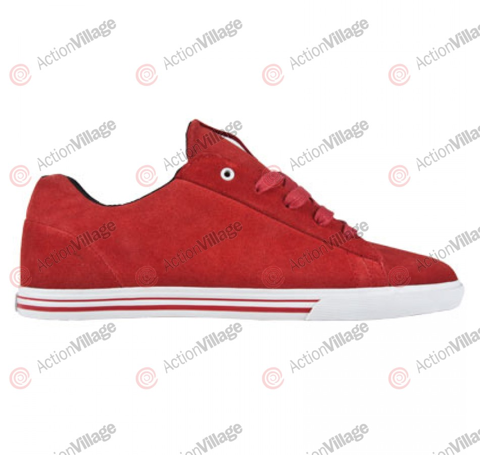 Supra Assault - Men's Shoes Red Suede