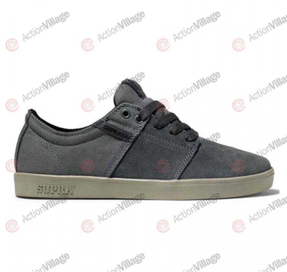 Supra Stacks -  Men's Shoes Grey Suede / Canvas