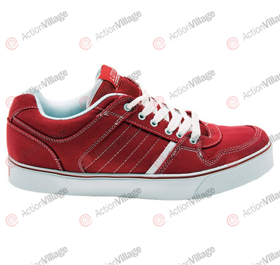 Lotek Enns - Red - Skateboard Shoes - 14