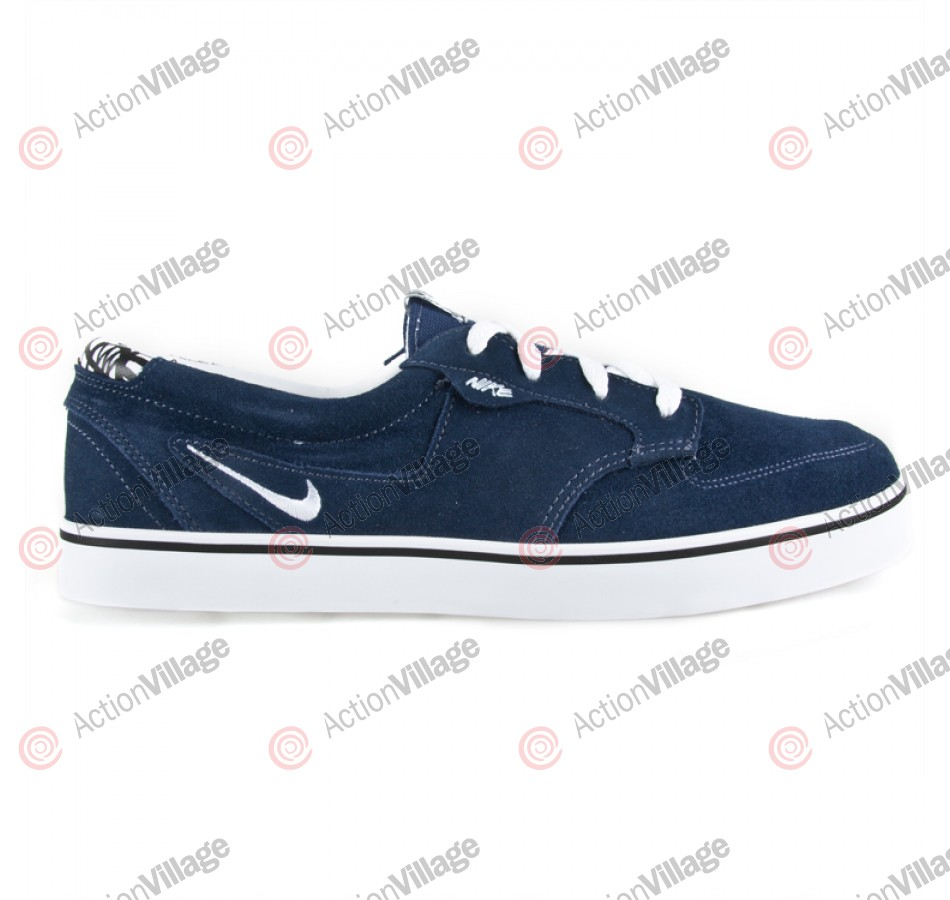 Nike Braata - Men's Shoes Midnight Navy / White