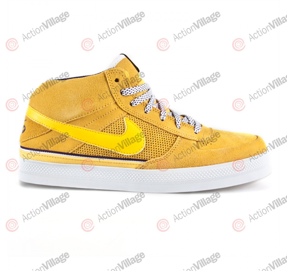 Nike Mavrk Mid 2 - Men's Shoes Varsity Maize / White / Club Purple