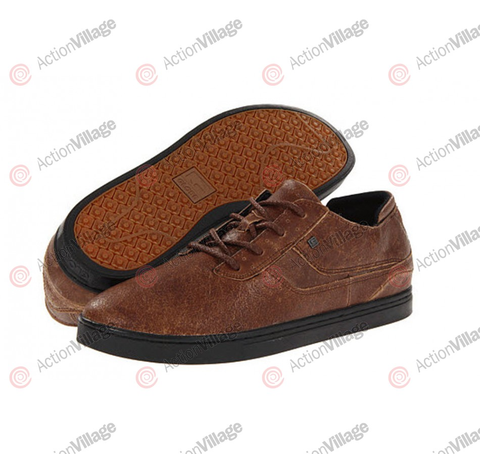 Globe Comanche Low - Golden Brown - Mens Skateboard Shoes
