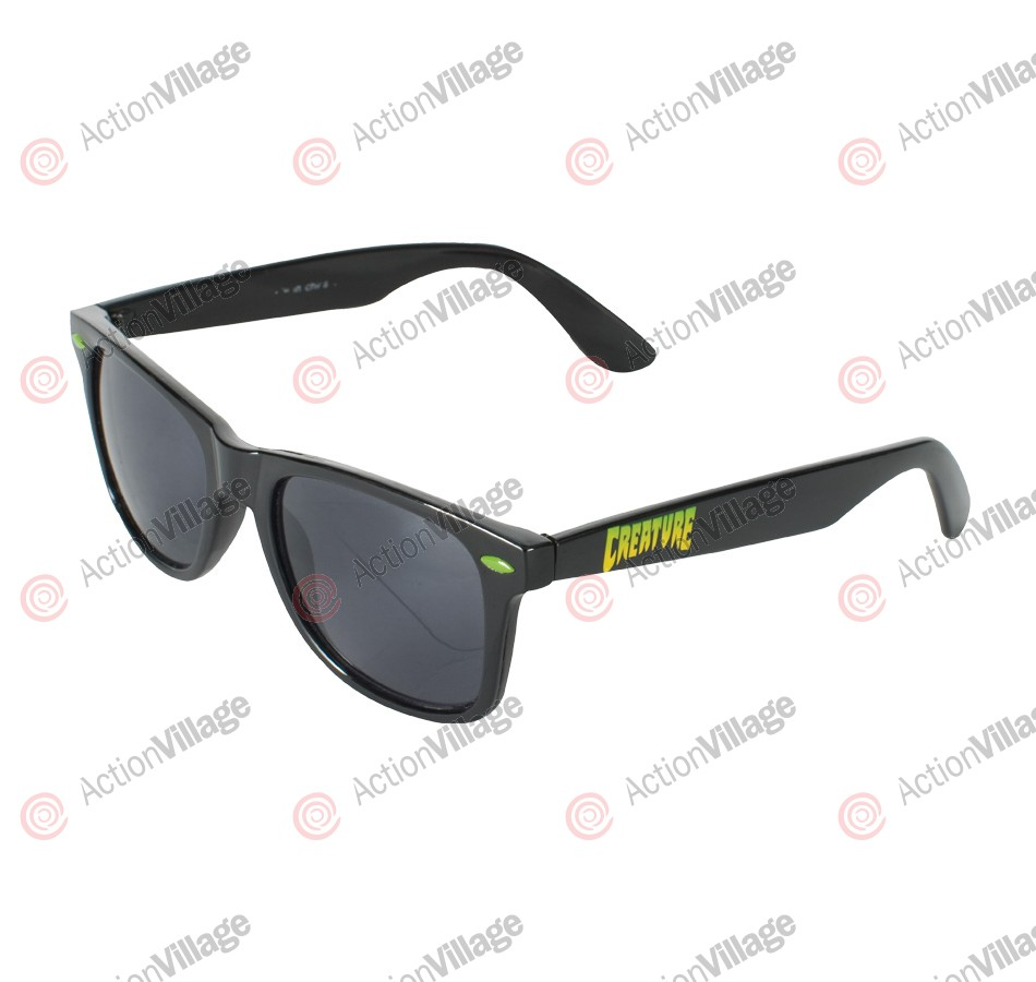Creature Logo - Black OS - Sunglasses