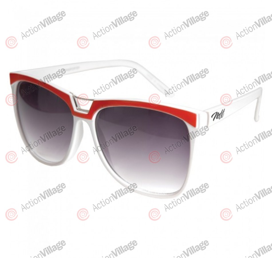 Neff Detroit - Sunglasses - White
