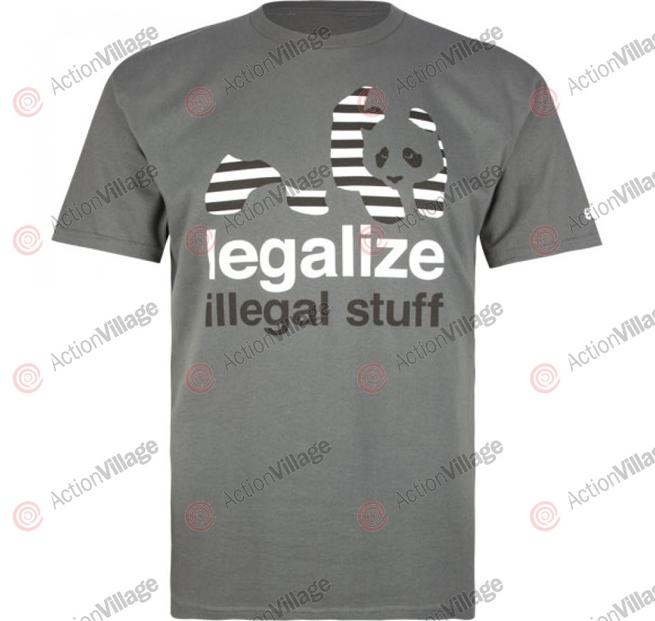 Enjoi Legalize S/S - Athletic Heather - T-Shirt