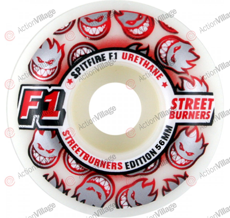 Spitfire Wheels F1 Streetburners - 51mm - Skateboard Wheels